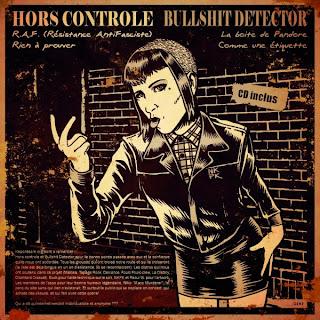 split EP Hors Controle - Bullshit Detector Hors-controle-vs-bullshit-detector-split