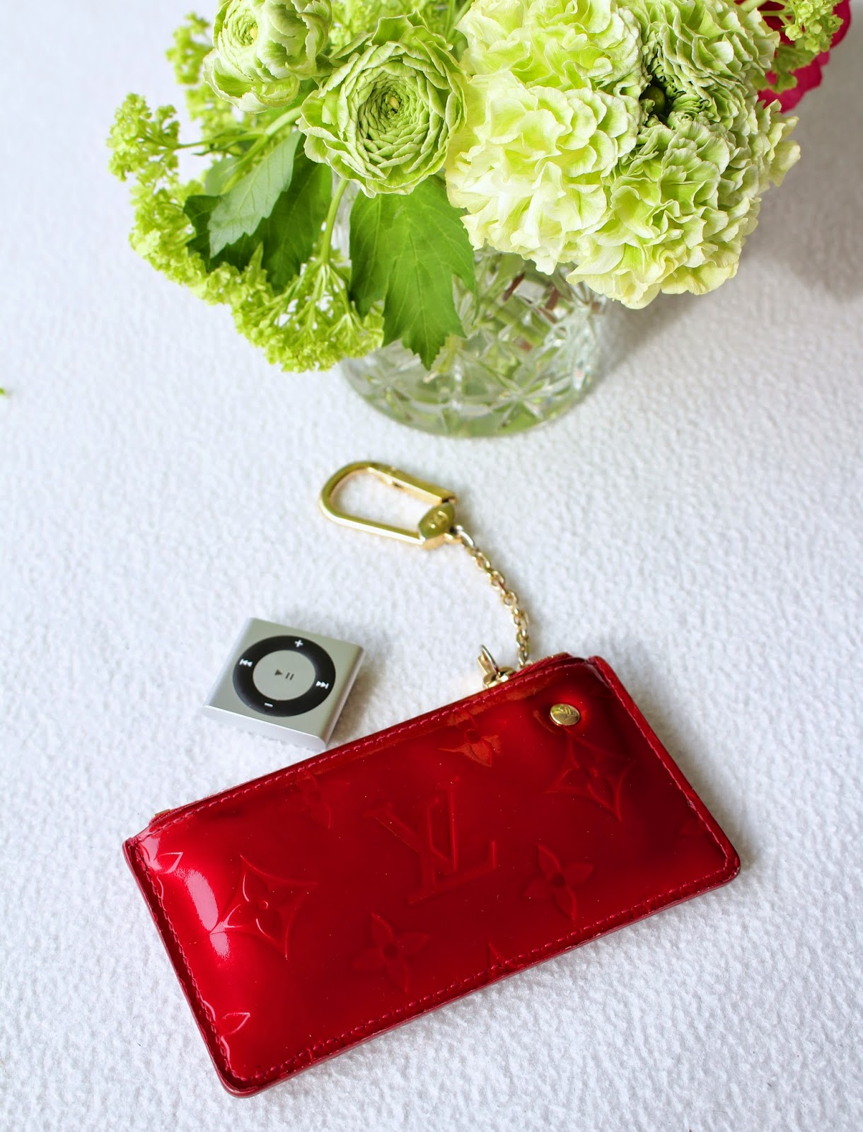 Louis Vuitton Patent red keyholder