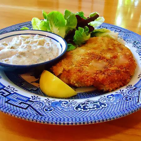 ... Bite: Frugal Foodie Friday - Crisp Pork Cutlets with Lemon-Caper Sauce