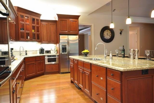 Thiết kế nội thất phòng bếp chung cư Hòa Bình Green City