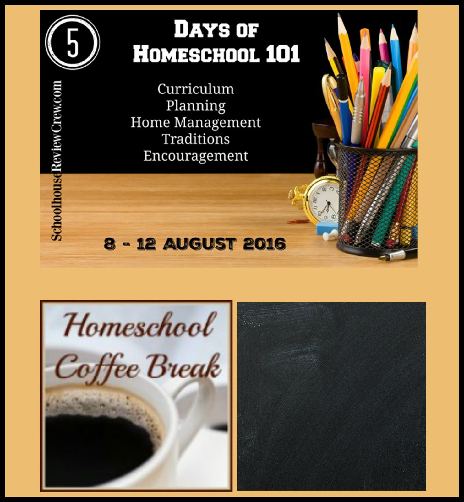 5 Days of Homeschool 101 (2016 Blog Hop)