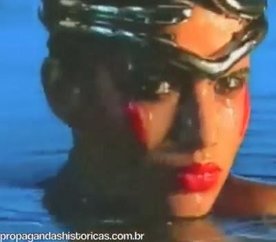 Abertura do Fantástico (Hans Donner) com Isadora Ribeiro em 1987.