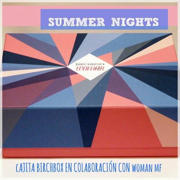 Summer Nights Birchbox Julio 2014