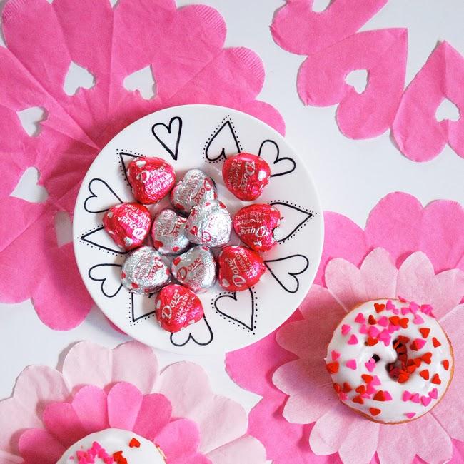 Pen Paper Flowers Craft Easy Handmade Heart Doilies