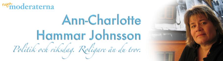Ann-Charlotte Hammar Johnsson (M)