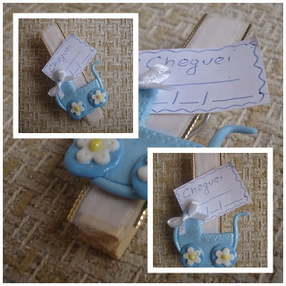 Lembrancinha de maternidade, Ímã de geladeira com porta recados