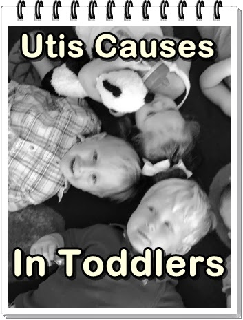 uti causes in toddlers and children