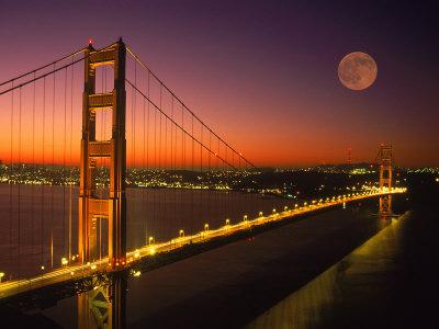 Tourism: Golden Gate Bridge  Sanfrancisco