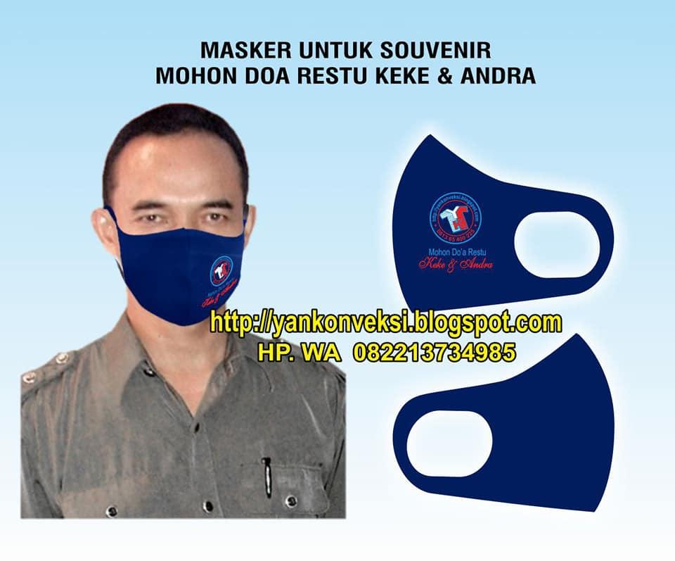 MASKER SCUBA SOUVENIR NIKAH