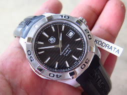 TAG HEUER AQUARACER 300m BLACK DIAL - AUTOMATIC CALIBER 5