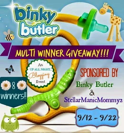 Multi Winner Binky Butler Giveaway
