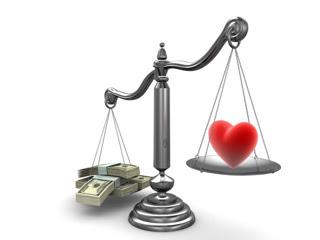 Novac vs ljubav download besplatne pozadine slike za mobitele