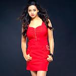 Bhavana in Red  Dress  Latest Stills