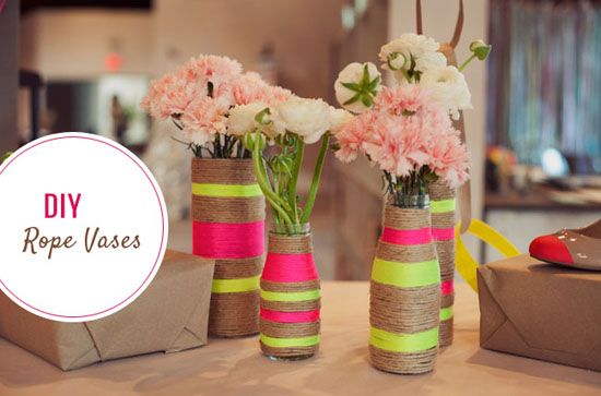 Как сделать вазу для цветов просто