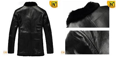 Genuine Sheepskin Coat for Men