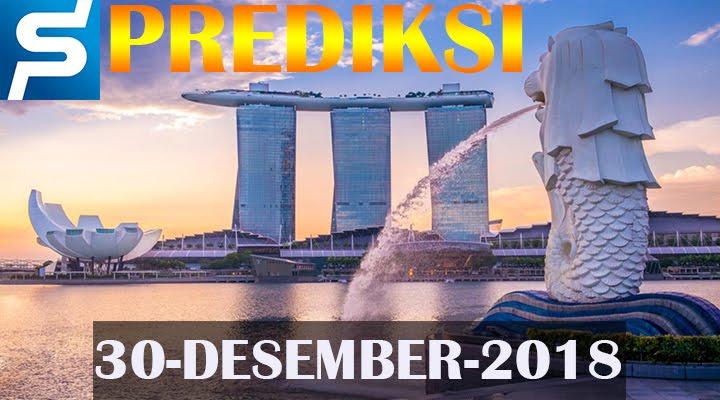 Prediksi Togel Singapore 30 Desember 2018 SGP Jitu
