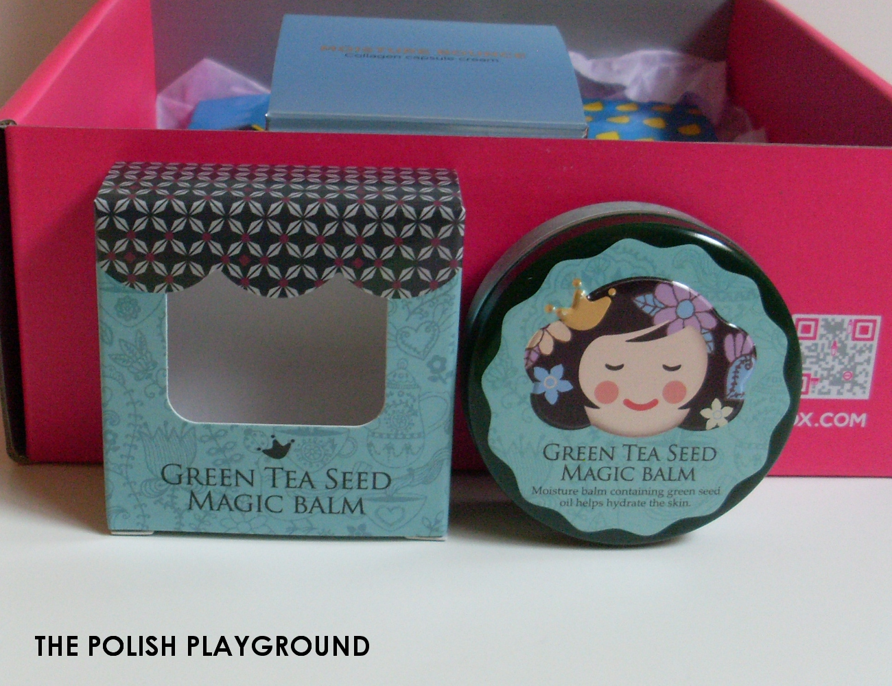 Memebox Special #81 The Next Best Thing in Skin Care Unboxing - Shara Shara Green Tea Seed Magic Balm