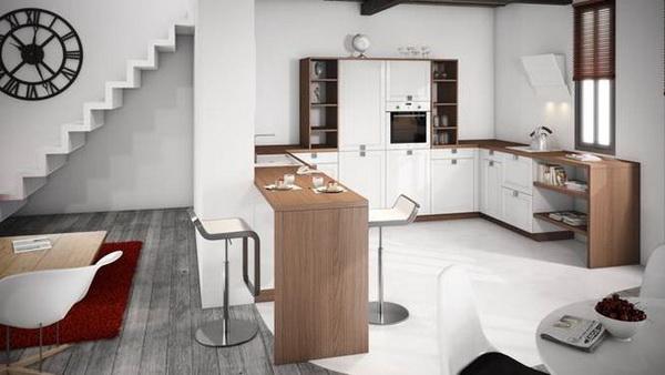 Deco chambre interieur mod les de cuisine blanches tr s - Modele de decoration de cuisine ...