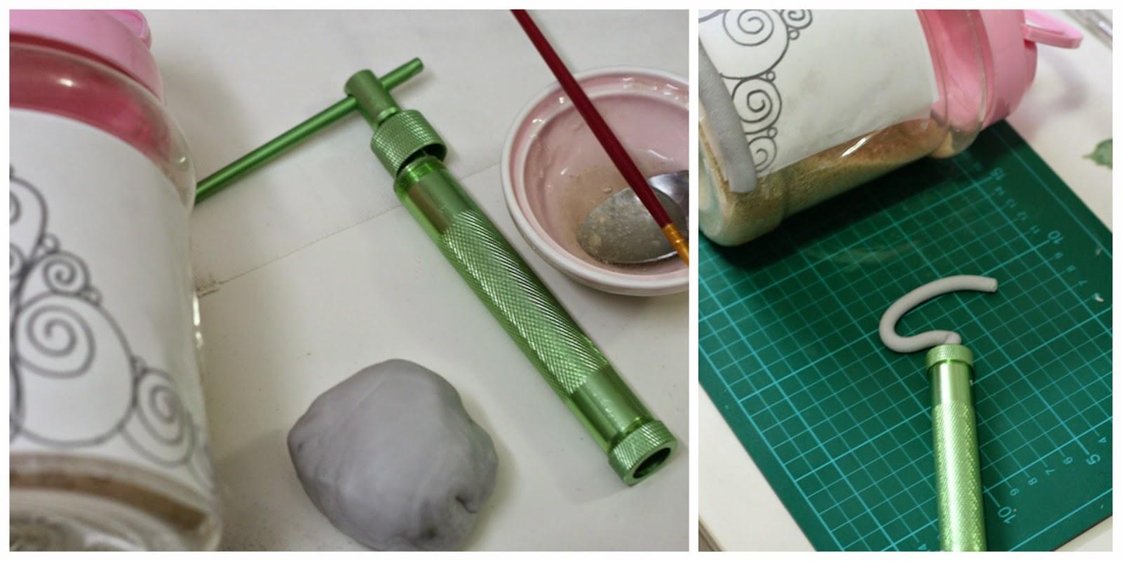 tutorial corona en pasta de goma