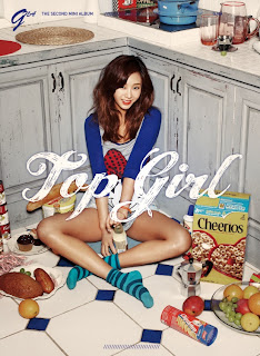 G.NA - Top Girl Lyrics