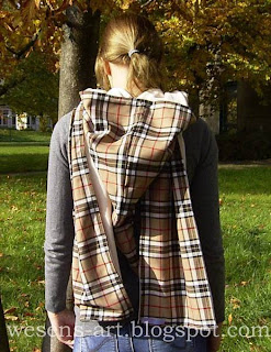reversible hooded scarf 1    wesens-art.blogspot.com
