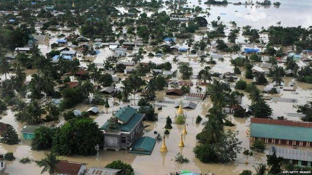 Banjir Besar, Myanmar Harus Introspeksi Atas Kekejamannya Kepada Muslim Rohingya