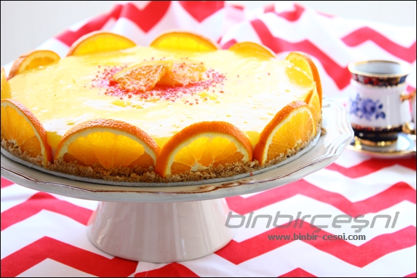 Portakal Güzelim– Portakallı İrmik Pastası :)