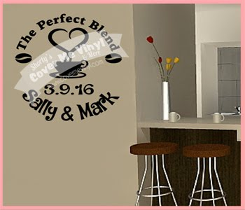 The Perfect Blend Wall Decal