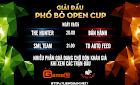 CẬP NHẬT THÔNG TIN GIẢI ĐẤU PHỐ BÒ OPEN CUP