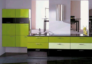 Green Kitchen Idea