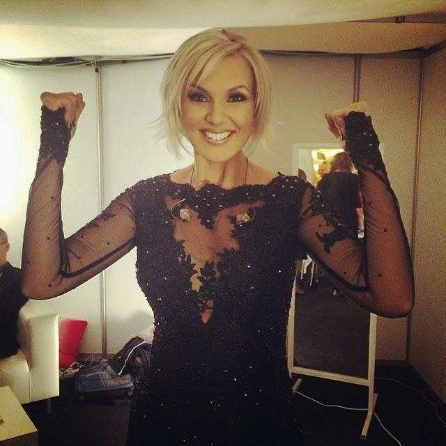Sanna Nielsen: EUROVISION ADDICT: Eurovision 2014: Final