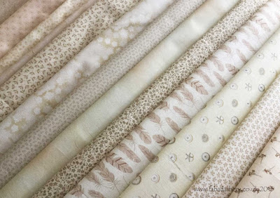Allietare Mystery Quilt 2015 - Part 1, Neutrals