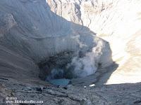 Mt Bromo Crater, Lubang Bukit Bromo