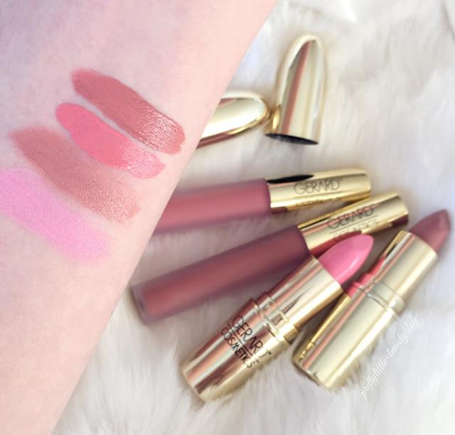 Gerard Cosmetics | Lipstick & Hydra Matte Lipstick Swatches