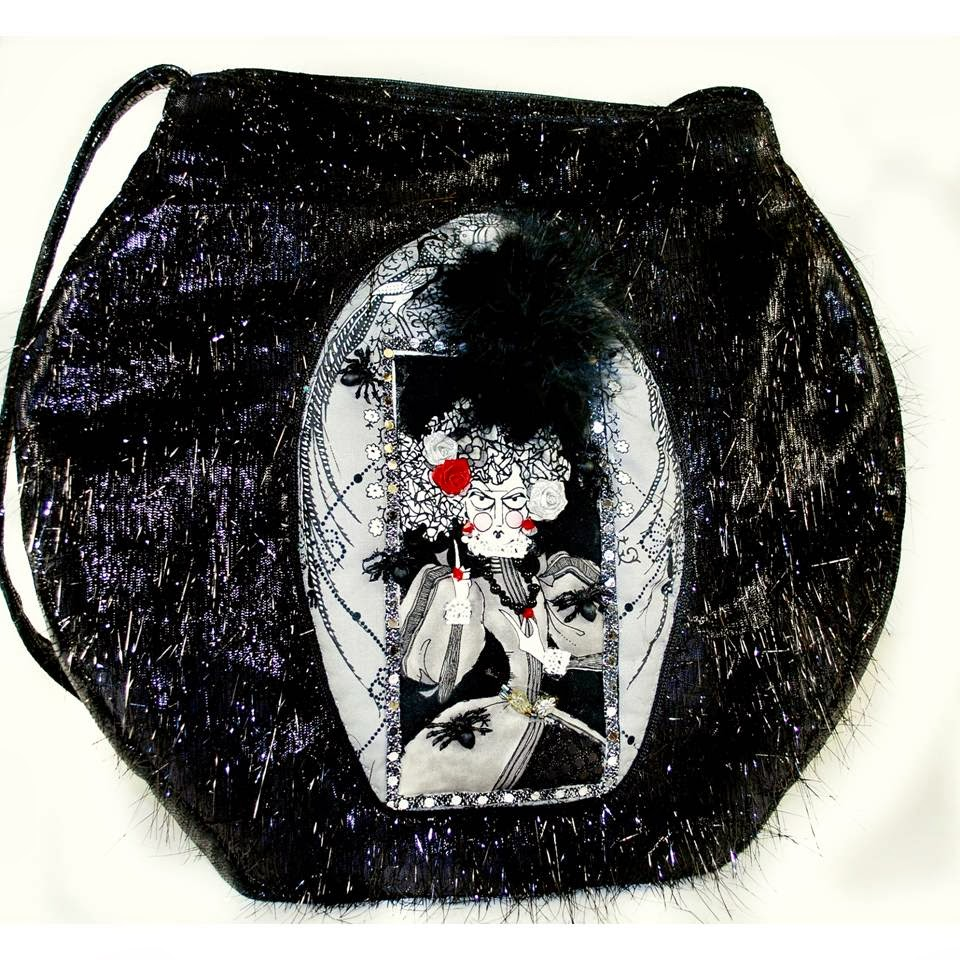 Ghastlie Witch Purse (front)