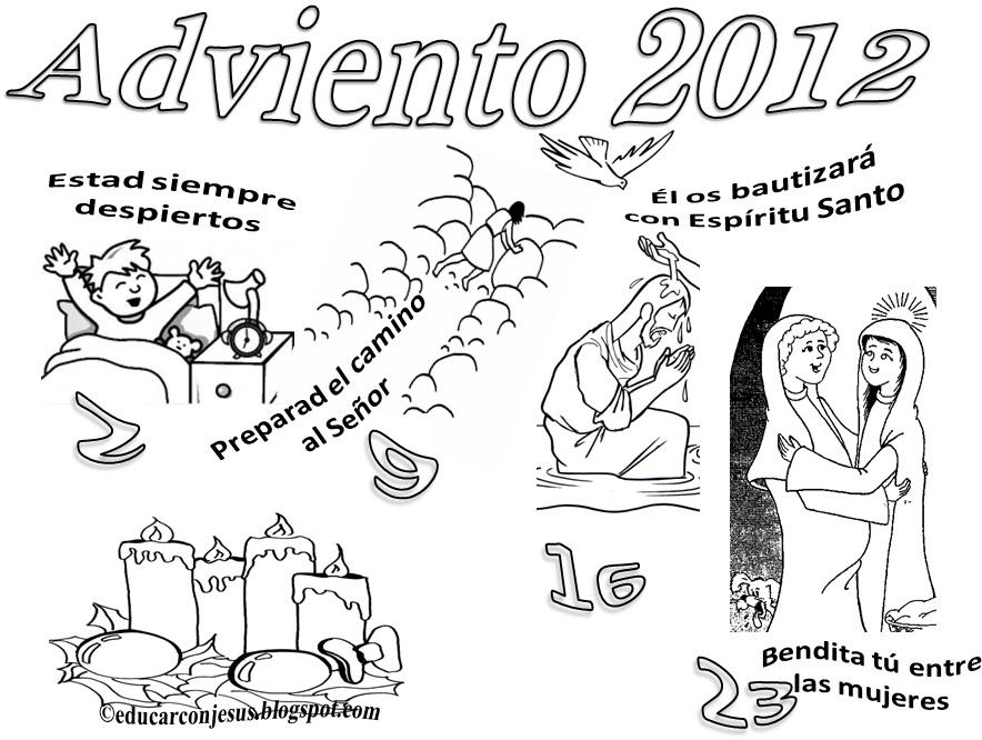 La Catequesis (El blog de Sandra): Calendarios Adviento 2012 para ...