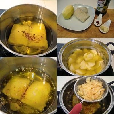Las recetas f ciles de mar a lomos de bacalao confitado for Como cocinar lomos de bacalao
