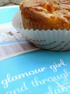 Little fall treasure apple muffins recipe on Fabulous Food Friday!