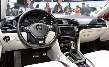 """Volkswagen's New Mid-Size Coupe Concept: Yes, a Golf-Based """"Four-Door Coupe"""""""
