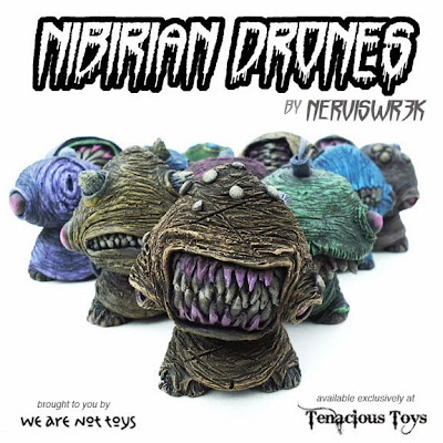 Nibirian Drones Resin Mini Figure Series by Nerviswr3k