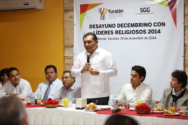 Diálogo permanente del gobierno con organizaciones sociales y religiosas