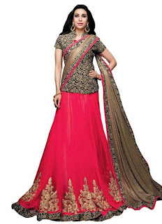 Top Indian Lehengas By Famous Fashion Brands