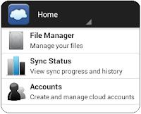 FolderSync_Go to account