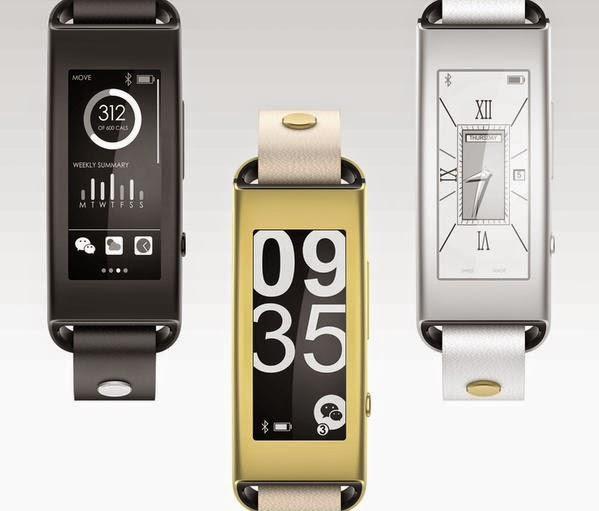 LENOVO introduces Vibe Band VB10 smartband wearable with E Ink display