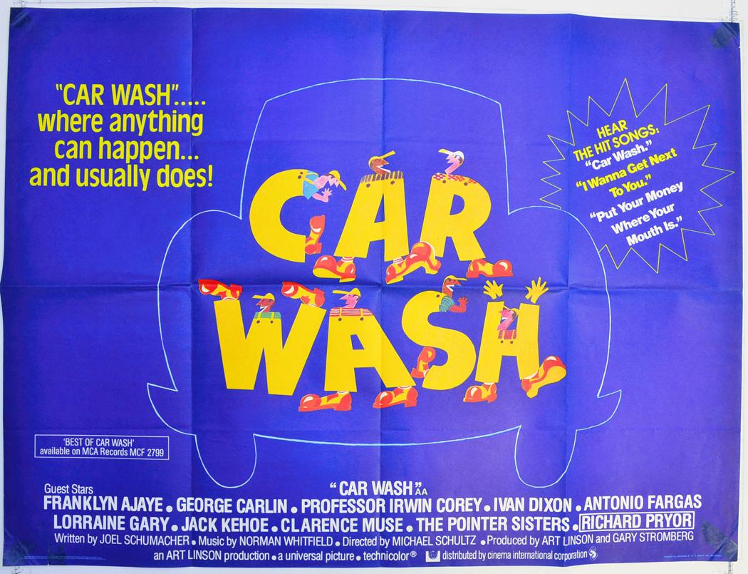 Dodgeball movie stills car wash