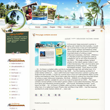 Nadi in Fiji Blogger Template. free download template blogspot