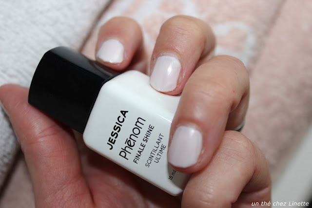 top coat Jessica gamme phenom