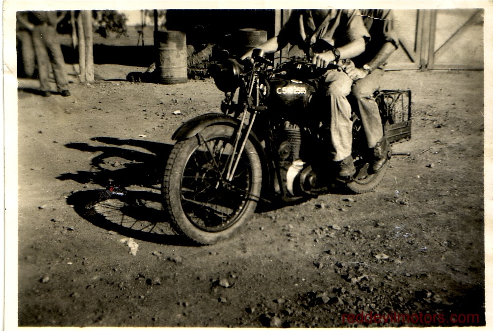 BSA M20 at Ahmednagar
