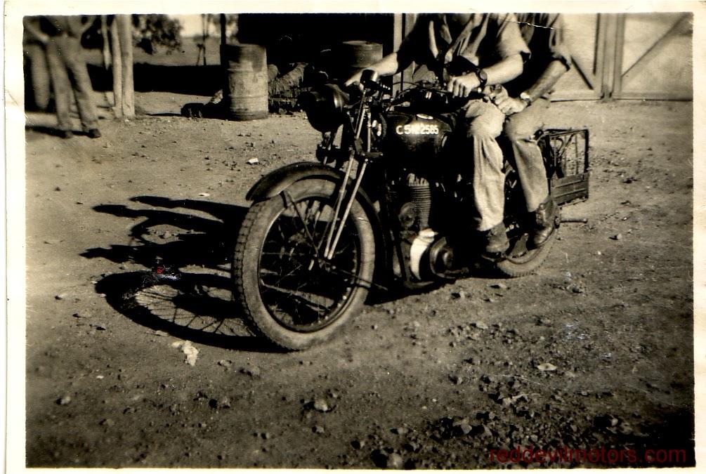 BSA M20 at Ahmednagar