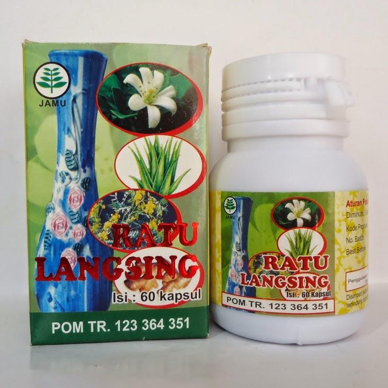 Ratu Langsing Herbalindo 60 kapsul Andiherbal.com